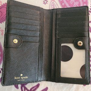 NEW Kate Spade small Safiano leather wallet